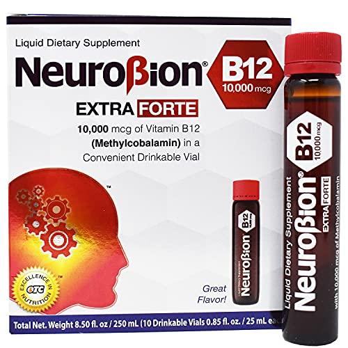 Neurobion Extra Forte B12 10,000 mcg Vials - Extreme Powerful B12 - 10 Vials per Box
