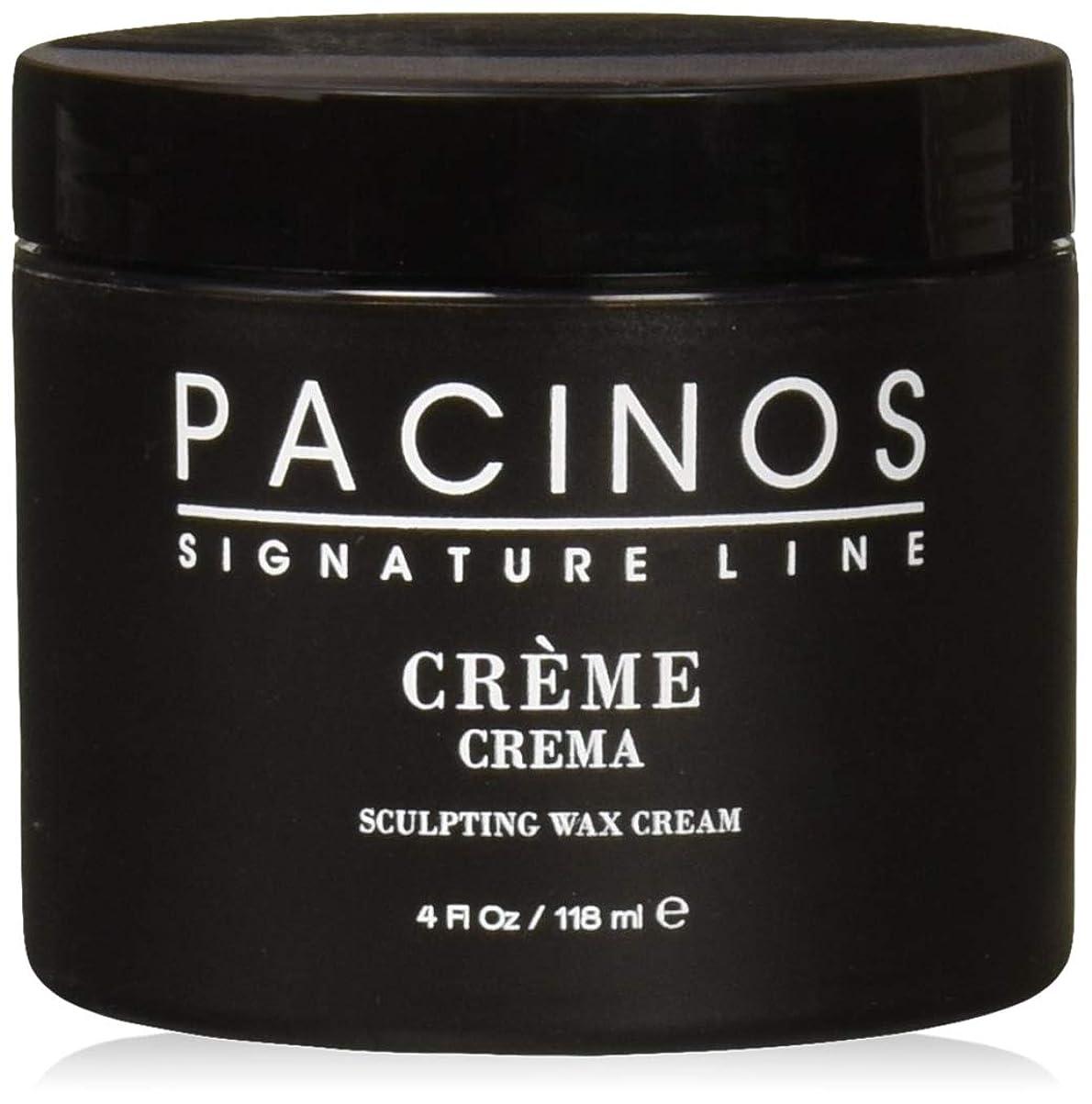 不純アカウント誇張Pacinos Grooming Elegance Creme, Sculpting Wax Cream 4oz by Pacinos [並行輸入品]