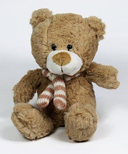 My-goodbuy24 Teddy Bär Kuscheltier Plüschtier Stofftier Kuschelbär Kleiner Bär | Größe : 21cm und sehr weich