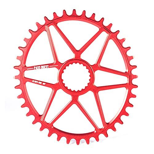 Catena di velocità MTB Bicycle Chainring Oval Round Stretto Denti Ampia Piastra Mountain Bike Air Anello a Catena 32T Bike Chainwheel Offset Catena Riutilizzabile