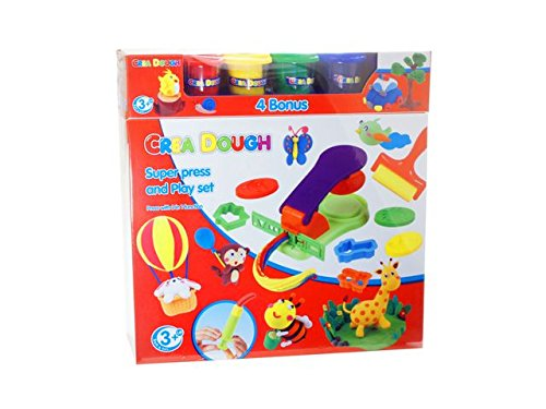 Ak Sport - 0282028 - Pâte À Modeler - Crea Dough Super Play Set