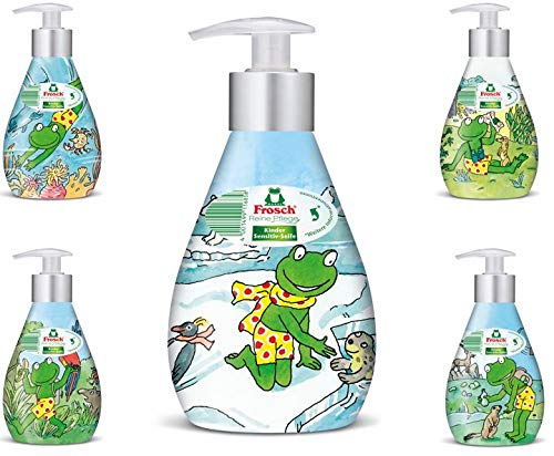 Frosch Kinder Pflegeseife Original, 6er Pack (6 x 300 ml)
