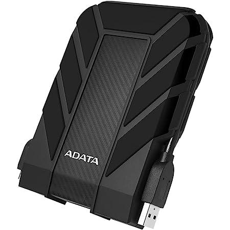 ADATA Disco Duro Externo HDD HD710P,4 TB, Resistente a golpes,agua y polvo, certificación grado militar, Color Negro