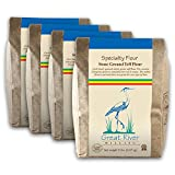 Great River Milling, Specialty Flour, Brown Teff Flour, Non-Organic, 5 lb (Pack of 4)