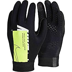 professional Nike Youth Academy Hyper Warm Gloves – Black-Volt YL