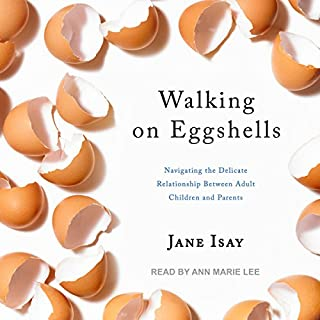 Walking on Eggshells audiobook cover art