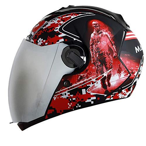 Steelbird SBA-2 7Wings Marine Full Face Graphic Helmet (Large 600 MM, Matt...