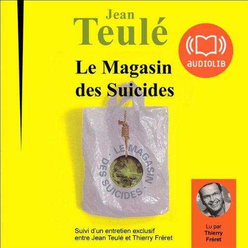 Couverture de Le magasin des suicides