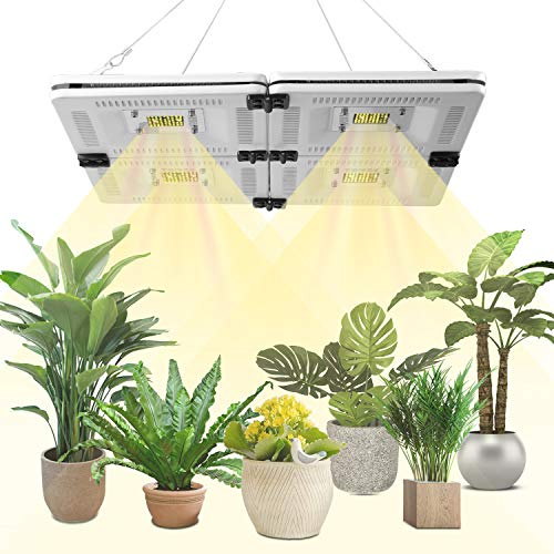 FECiDA Professional Sunlike LED Grow Light Full Spectrum for Grow Tent, 1000W CFL, HPS, CMH Grow Lights Equivalent, waterproof and Silent Plant Grow Light for Seedlings, Growing, Flowering, Fruiting