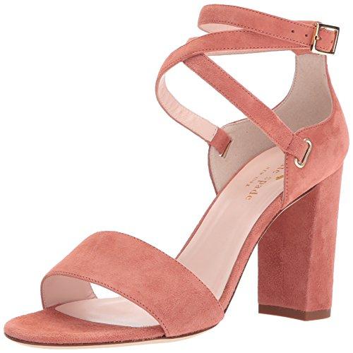 Kate Spade New York Women's Isolde Heeled Sandal, Cumin, 9.5 M US