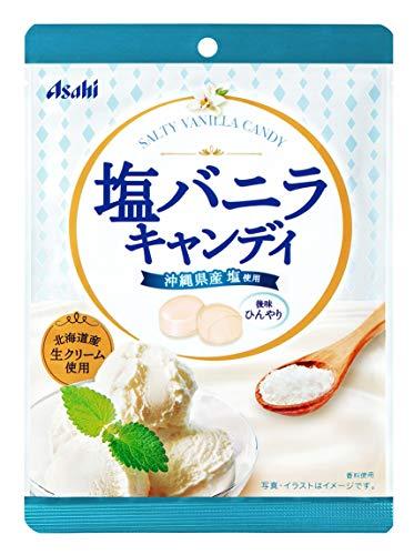 アサヒグループ食品 塩バニラキャンディ 101g ×6袋
