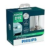 Philips 85415XVS2 Lampadina per Fari allo Xenon X-tremeVision D1S, Confezione Doppia