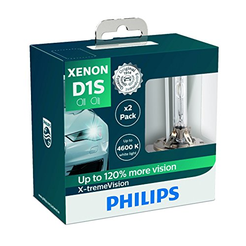Philips 85415XVS2 Xenon-Scheinwerferlampe X-tremeVision D1S, Doppelset