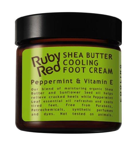 Ruby Red Crème rafraîchissante pour les pieds 60 ml