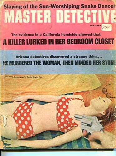 MASTER-DETECTIVE-JAN 1968-FR-MURDER-KIDNAP-RAPE-STRANGLING Sales Max 74% OFF of SALE items from new works FR