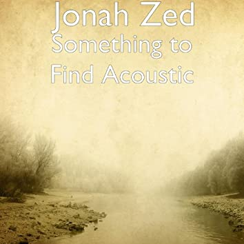 Something to Find (Live Acoustic)