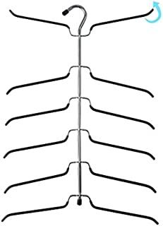 6 tier blouse tree hanger