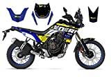 Race-styles - Adesivi compatibili con Yamaha Tenere 700 Blue Graphics DEKOR | Factory Decals Kit