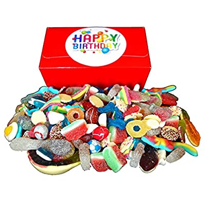 happy birthday pick and mix sweets gift box - 1 kilo of awesome pick and mix sweets in a gift box with colourful happy birthday sticker! Happy Birthday Pick and Mix Sweets Gift Box – 1 Kilo of Awesome Pick and Mix Sweets in a Gift Box with Colourful Happy… 51HoNCnPVBL