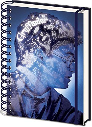 Harry Potter - 3D Cover Wiro Notebook Magic Portrait [Edizione: Spagna]
