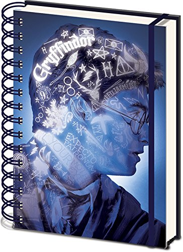 Harry Potter - 3D Cover Wiro Notebook Magic Portrait [Edizione: Spagna]