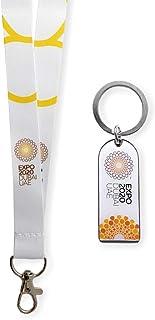 Expo 2020 Dubai White Bottle Opener and White Lanyard Pack of 2