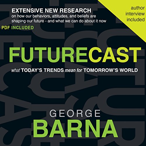 Futurecast audiobook cover art