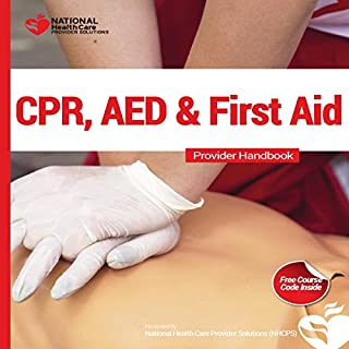CPR, AED & First Aid Course Kit audiobook cover art