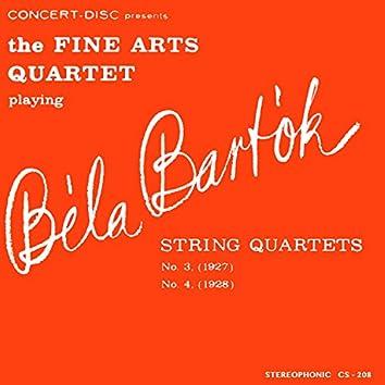 Bartók: String Quartets No. 3 & No. 4 (Remastered from the Original Concert-Disc Master Tapes)
