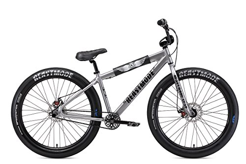 SE Bikes Beast Mode Ripper 27.5R+ BMX Bike 2019 (41cm, Silver & Black)