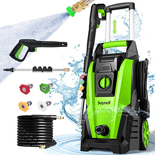 Suyncll Pressure Washer, 3800PSI Electric Power Washer, 2000W High...