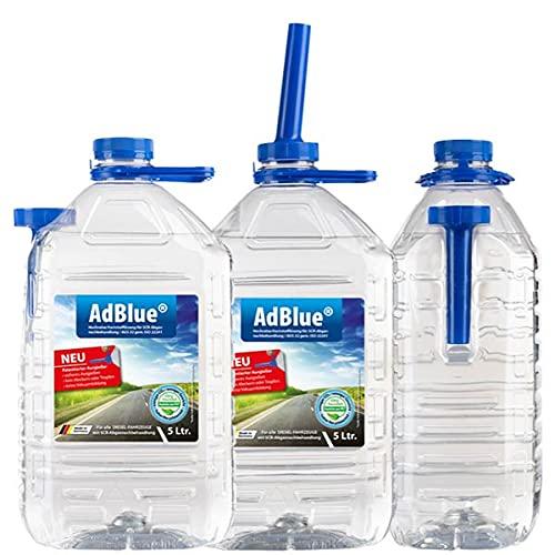 VENTON AdBlue® Harnstoff-Lösung 2×5L Kanister I Hochreines Diesel-Additiv für SCR-Abgasnachbehandlung inkl. praktischem Ausgießer I Ausstoßreduzierung von Stickoxiden I Ad Blue für Diesel