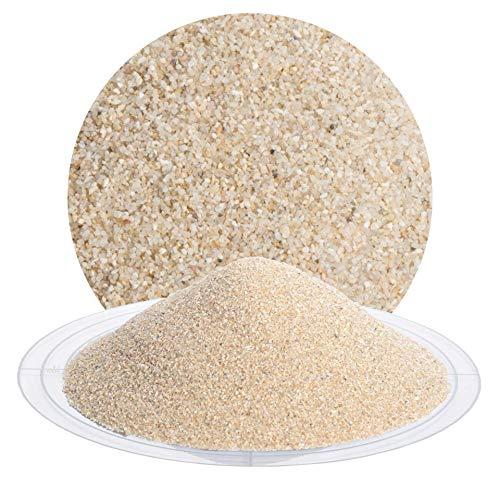 25 kg Quarzsand beige in verschiedenen Körnungen von Schicker Mineral, speziell geeignet für enge Fugen (0,4-0,8 mm)