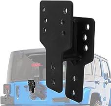Obelisks Spare Tire Relocation Bracket Fit for 1976-2018 Jeep Wrangler CJ YJ TJ JK