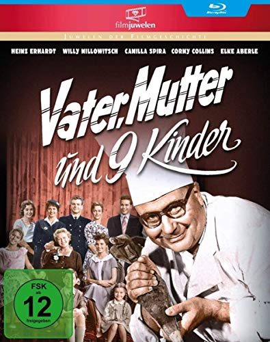 Vater, Mutter und neun Kinder (Neuauflage) (Filmjuwelen) [Blu-ray]