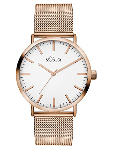 S.Oliver Damen Analog Quarz Armb...