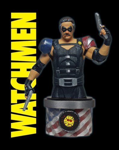 Watchmen The Movie buste The Comedian 15 cm