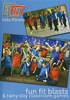 DVD Mindy Mylrea: Fun Fit Blasts & Rainy Day Classroom Games for Kids Book