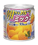 《セット販売》 はごろもフーズ 朝からフルーツ ミックス (190g)×6個セット 缶詰