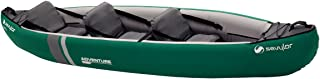 Sevylor Adventure Plus Kanu; uppblåsbar kanot för 2 personer 1 barn, vikbar kajak med robust polyester ytterhölje, hög sta...