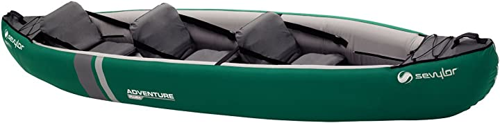 Kayak sevylor adventure plus kayak, 2 + 1 posti, verde 2000016740