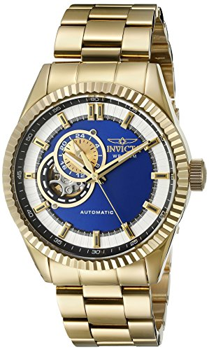 INVICTA Herren Analog Automatik Uhr mit Edelstahl Armband 22080