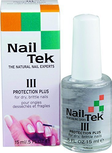 Nailtek Protection Plus III for Dry Brittle Nails, 0.5 Fluid Ounce by Nail Tek