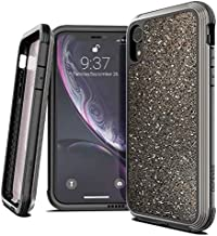 X-Doria Defense Lux, Compatible with Apple iPhone XR - Military Grade Drop Tested, Anodized Aluminum, TPU, and Polycarbonate Protective Case for Apple iPhone 6 XR, 6.1