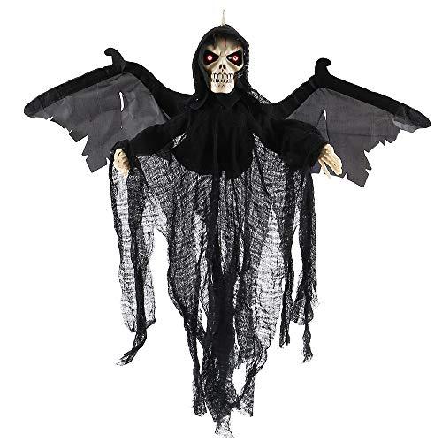 You's Auto Halloween Deko Halloween Kostüm Grusel Dekoration Skeleton Ghost für Karneval Cosplay Kostümparty Halloween Party Dekoration von Tisch Haus und Garten
