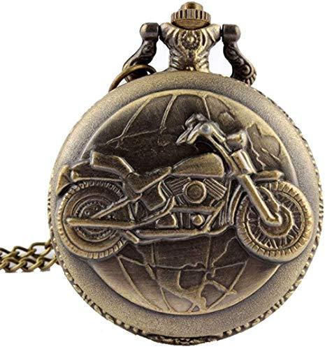 Aluyouqi Co.,ltd Modelo Retro del Zodiaco Reloj de Bolsillo Moderno Collar Cadena Cobre Doce Constelaciones Colgante Reloj de Aniversario Regalos para Hombres Mujeres