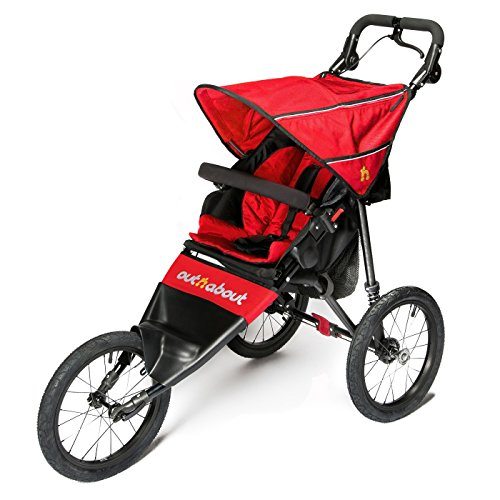 Out \'N\' About Nipper Sport Stroller V4 - Carnival Red