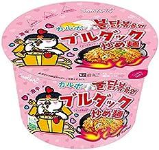 サムヤン(三養)カルボナーラブルダック炒め麺ビックカップ(6個セット)
