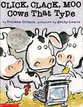 Paperback Click, Clack, Moo: Cows That Type Book