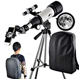 Telescope for Kids 70mm Apeture Travel Scope 400mm AZ Mount!
